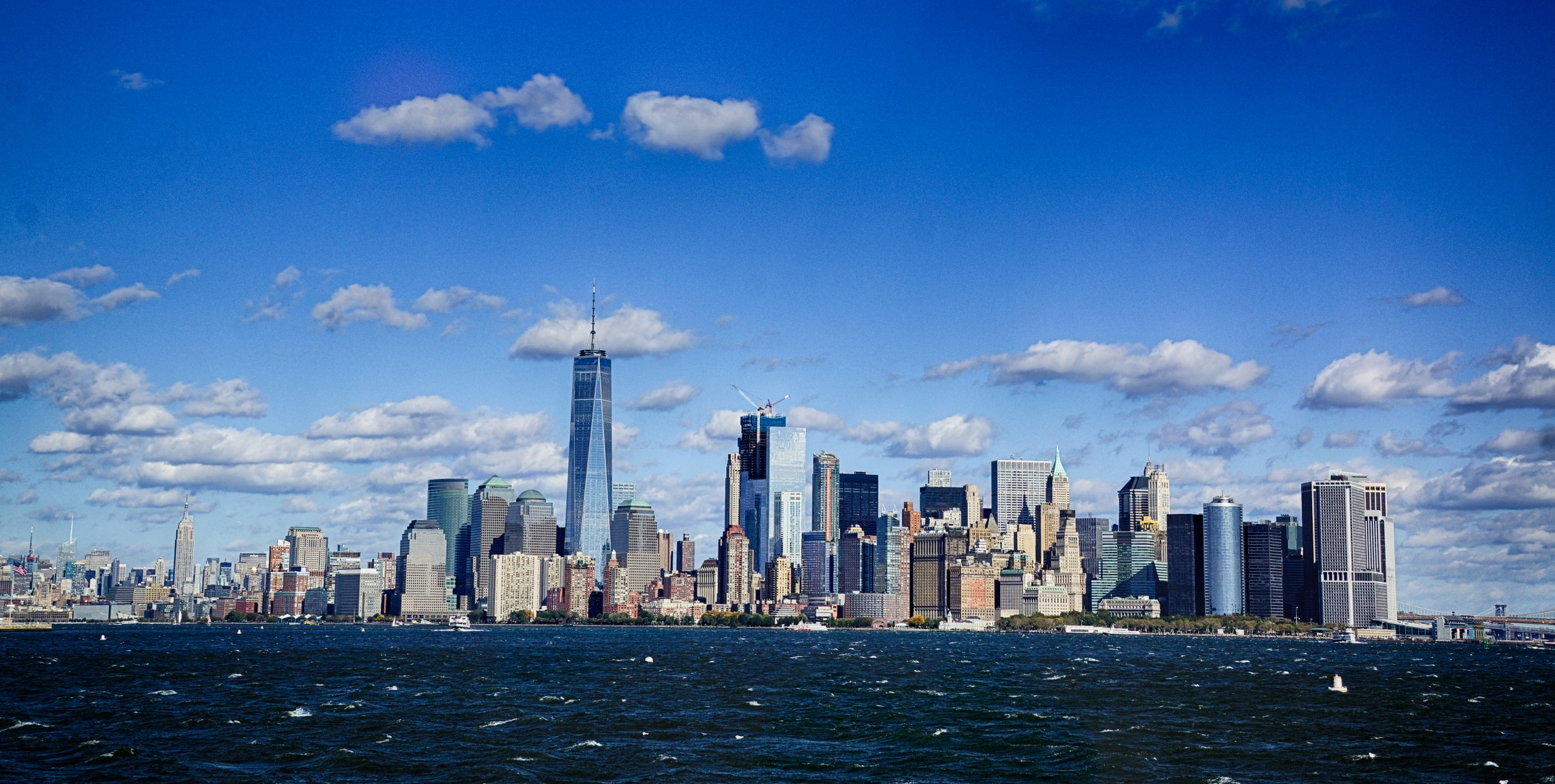 NYC Skyline with Freedom Tower